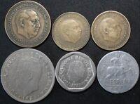 Mix Of Spain Coins | Bulk Coins | KM Coins