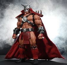Sp-Sk-C: Custom Fabric Wired Cape for Storm Collectibles Shao Kahn (No figure)