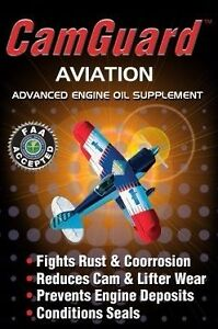 Aviation Oil Additive CamGuard