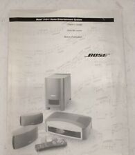 BOSE Model No. AV3-2-1 Media Center With PSE-2-1 Powered Speaker System - E26