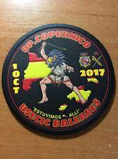 SPAIN PATCH POLICE USECIC BALEARES ISLANDS ( OPERATIONS COPERNICO ) - ORIGINAL!