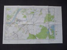 Landkarte Polen, Meßtischblatt 155.31 Chmielów, Woiwodschaft Tarnobrzeskie, 1994