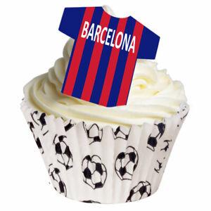 Edible T Shirts - Barcelona - Cake Decoration