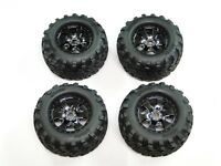 NEW HPI SAVAGE X 4.6 RTR Wheels & Tires Set 17mm XL 5.9 FLUX HXR31