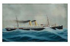 ORSOVA (1) built 1909 - Orient Line Art Postcard digital Modern