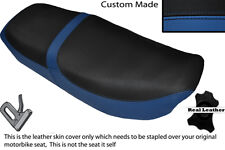 ROYAL BLUE &BLACK CUSTOM FITS HONDA CB 650 SC NIGHTHAWK 82-85 DUAL SEAT COVER