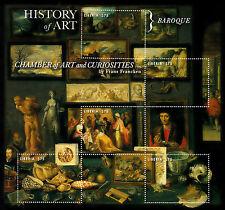 Liberia 2013 MNH storia dell' arte barocco II 5V M / S FRANCKEN CAMERA fenomeni da baraccone