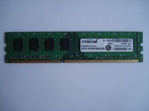 CRUCIAL 2GB (1x2GB) DDR3 1066 PC3-8500 240-Pin CL7 SDRAM CT25664BA1067 .M16FG