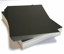 10 16x20 UNCUT mat matboard Black Color 8 Ply...8-ply thick (about 2.4 mm or 1/8