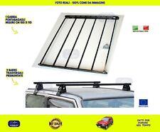 Barre portatutto Fiat Panda Trekking Gabbia Portabagagli per tetto portapacchi