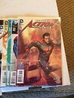 Action Comics #43-52 2011 New 52 DC Lot set run Superman With Variants 17 Books