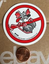 No Rats Organized Labor Union Hard Hat Sticker Decal Funny