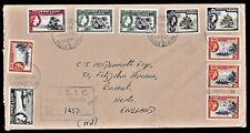 Pacific (Gilbert & Ellice Islands) - 1969 Registered Airmail ENV  Bairiki-Tarawa