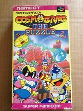 SUPER FAMICOM SFC NTSC-J COSMO GANG THE PUZZLE BOXED INST FREEPOST UK
