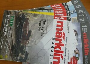 MARKLIN 2013 MAGAZINES AND INSIDER CLUB NEWS 2013 COMPLETE YEAR.