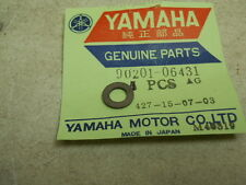 Yamaha NOS TY250, XS1100, XS500, XS750, Plate Washer, # 90201-06431-00   S-125