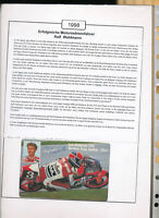 565331 / Motorrad Beleg Autogramm Ralf Waldmann