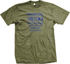 Lie On Your Back And Do What The EMT Says Funny Sexual Mens T-shirt