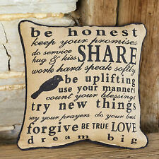 "Accent Throw Pillows Be Honest 14""x14"" Full Pillow Couch Bed Chair Throw Pillows"