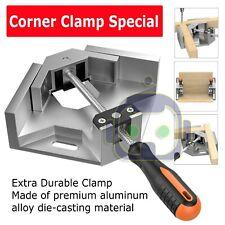 Aluminium Single Handle 90 Degree Right Angle Clamp Photo Frame Corner Clip USA