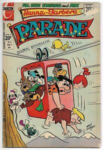 Hanna-Barbera Parade #8 (Charlton, 1972) – Flintstones – Yogi Bear – VG