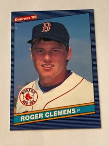 Roger Clemens 1986 Donruss Card #172 Boston Red Sox
