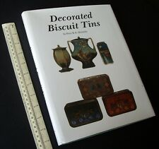 1984 Decorated Biscuit Tins. Peter Hornsby. Schiffer Collectors Book. Superb Ref