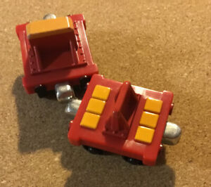 Thomas & Friends Take N Play Two Magnetic Train Tenders For Rocky The Crane