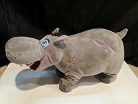 """17"""" The Disney Store Gray Hippo Plush Beshte The Lion Guard"""