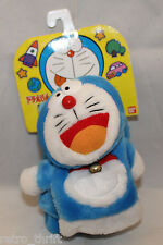 Bandai Japan Doraemon Chara dollar Thick Scarf Muffler With Bell 760x90mm Rare