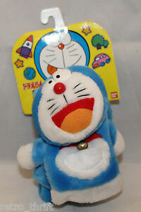 Bandai Japan Doraemon Chara dollar Thick Scarf Muffler With Bell 760x90mm Rare