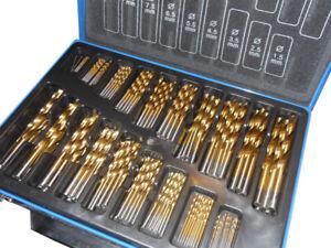 170 pce Cobalt Drill Bit Set for Stainless Steel Metal HSS-Co Cobalt Bits