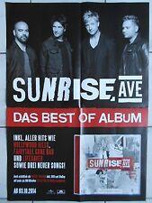 SUNRISE AVENUE MOTIV 2  2014   orig.KONZERT - TOUR - CONCERT POSTER  84 X 59 cm