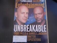 Bruce Willis, Samuel L. Jackson - Entertainment Weekly Magazine 2000