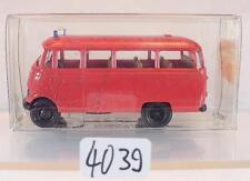 Brekina 1/87 Nr. 36130 Mercedes Benz O 319 Kleinbus Feuerwehr OVP #4039