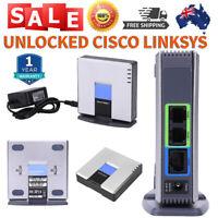 UNLOCKED CISCO LINKSYS PAP2T PAP2T-NA SIP VOIP Phone Adapter 2 Port Gateway HOT