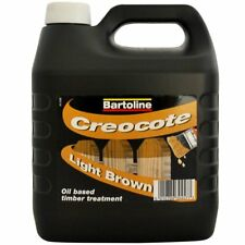 Preserve Wood Fence Surface Treatment 4L Creosote Substitute Light Brown Timber