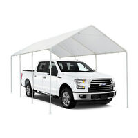 Heavy Duty Carport Garage Outdoor Garden Canopy Car Shelter Shed Storage 10'x20'