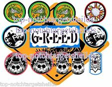 Addams Family Pinball Target Armour Cushioned Decals