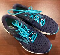 Brooks Womens Ravenna 9 1202691B452 Blue Running Shoes Lace Up Size 9.5 B