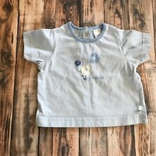 Toddler Girl's Liz Kids Liz Claiborne Kids Blue Floral Shirt Size 24 Months