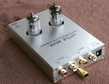 Little bear Silver T7 tube valve Phono RIAA MM Turntable Preamp preamplifier UK