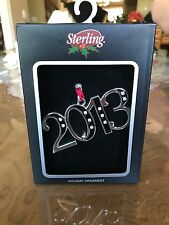 2013 Sterling Holiday Ornament Christmas Decoration