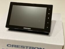 "✅ Crestron TSW-752-B-S 7"" Touch Screen Touch PanelBlack w/ Table Top Dock"