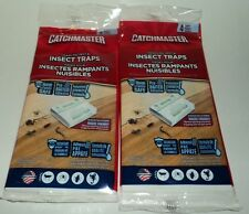 8 Catchmaster Crawling Pest & Insect  Traps Home & Family Safe, Pre-bait NIP