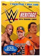 WWE Wrestling 2016 WWE Heritage Trading Card BLASTER Box