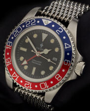 Ticino Traveler submariner seadweller  Diver Watch – Hangzou 6460 Movement