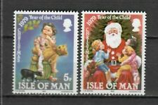 s23048) ISLE OF MAN 1979 MNH** Nuovi** Christmas 2v