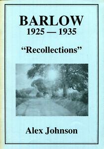 BARLOW 1925-1935 Near Gateshead Tyne & Wear by Johnson undated