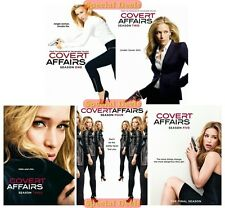 New Covert Affairs The Complete DVD TV Series Seasons 1 2 3 4 & 5 Sealed Set 1-5
